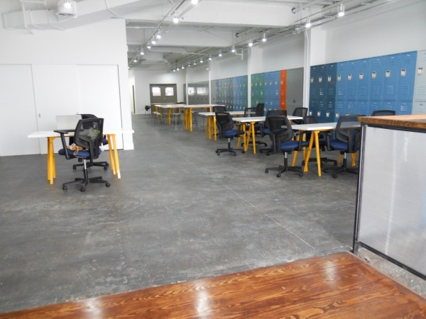 First floor shared work-space
